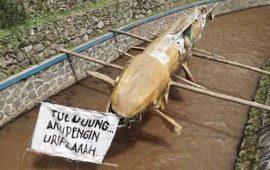 Terbawa Hujan, Lumpur 'Cut And Fill' PLTP Baturaden Kotori Sungai Prukut