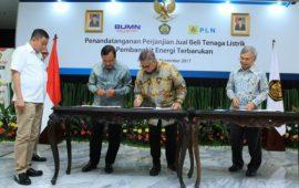PT Rekind dan Supreme Energi Kerjasama Bangun PLTP Rantau Dedap
