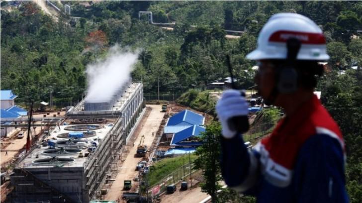 Proyek PLTP Lumut Balai Dalam Tahap Pembangunan Power Plant