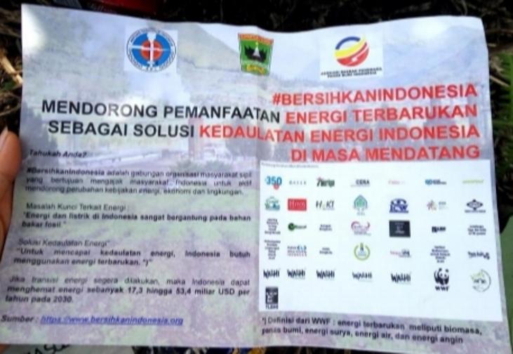 "Ketua Umum ADPPI Hasanuddin: Saya Bertanggung Jawab terhadap Pamflet ""#BersihkanIndonesia"""