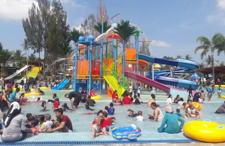 Kiddies Pool, Wahana Baru di Objek Wisata Cipanas Garut