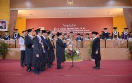 Wakil Ketua DPR RI Agus Hermanto Jadi Guru Besar Manajemen Kebijakan Panasbumi