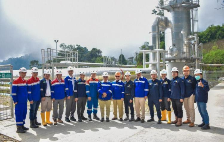 PLTP Lumut Balai 55 MW Beroperasi, Kapasitas Terpasang Panasbumi Indonesia Lebih 2000 MW