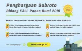 Perusahaan Panasbumi Star Energy dan Supreme Energi Raih Subroto Award 2019