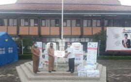 Atasi Pandemi Covid-19, PGE Area Kamojang Berikan Bantuan ke Pemkab Garut