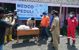 Medco Cahaya Geothermal Salurkan Bantuan Penanganan Pandemi Covid-19 di Bondowoso