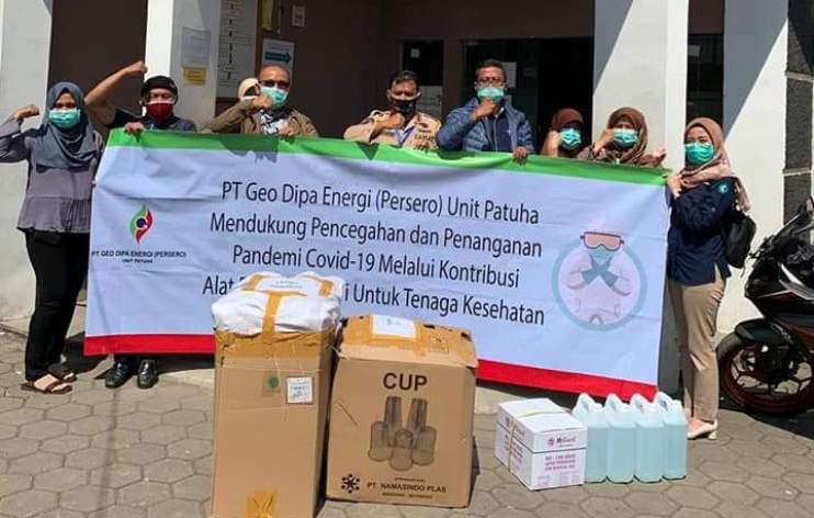 Dukung Upaya Pemerintah Tangani Covid-19, Geo Dipa Kembali Salurkan Bantuan