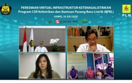 Menteri ESDM Resmikan 10 Pembangkit, di Antaranya Pembangkit Panas Bumi Muara Laboh