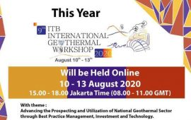 ITB Gelar Workshop Panas Bumi Internasional 10-13 Agustus