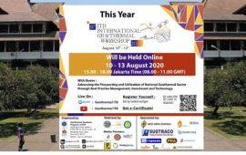 """Inilah Jadwal Lengkap Kegiatan """"9th ITB International Geothermal Workshop 2020"""""""