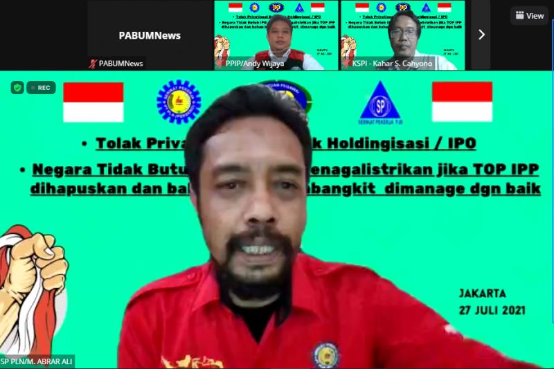 M Abrar Ali, ketua SP PLN (Persero)