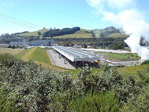 Pembangkit Listrik Wairakei - Selandia Baru