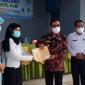 Bupati Kepahiang Hidayattullah Sjahid, dalam acara penyerahan Beasiswa PIP Aspirasi