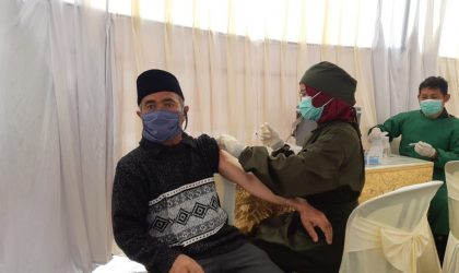 Vaksinasi Masal Gratis Geo Dipa