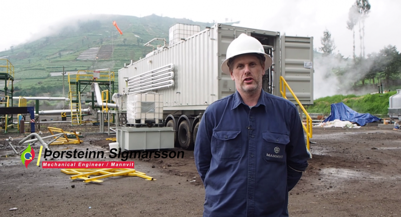 Thorsteinn Sigmarsson, Director of Asian Market and geothermal expert at Mannvit